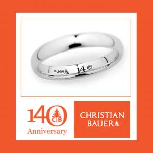 """【GRACIS札幌駅前店】CHRISTIAN BAUER""""140周年記念"""""""