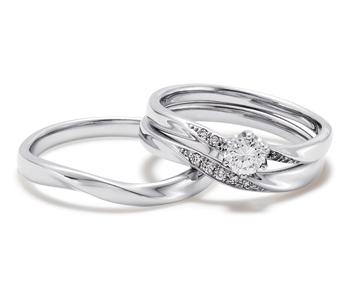 フェミニン 婚約指輪のBrilliant s