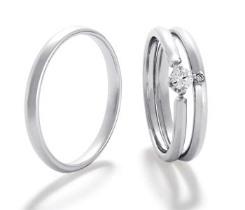 フェミニン 婚約指輪のLuck s