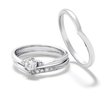 フェミニン 婚約指輪のJov  s