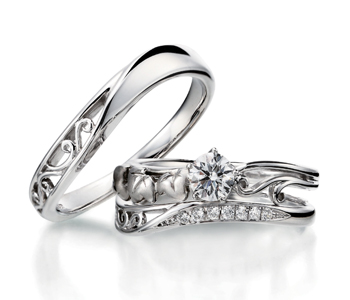 ゴージャス 婚約指輪のエデラ
