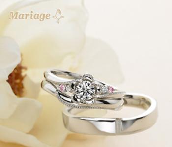フェミニン 婚約指輪のノブレッセ