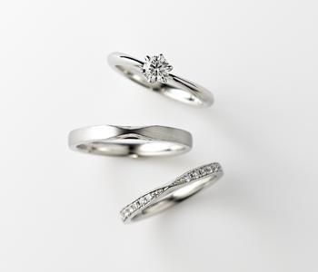 シンプル 婚約指輪のディオーネ