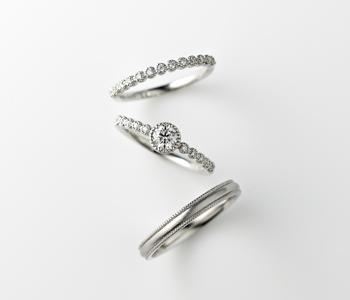 シンプル,フェミニン 婚約指輪のヴェスタ