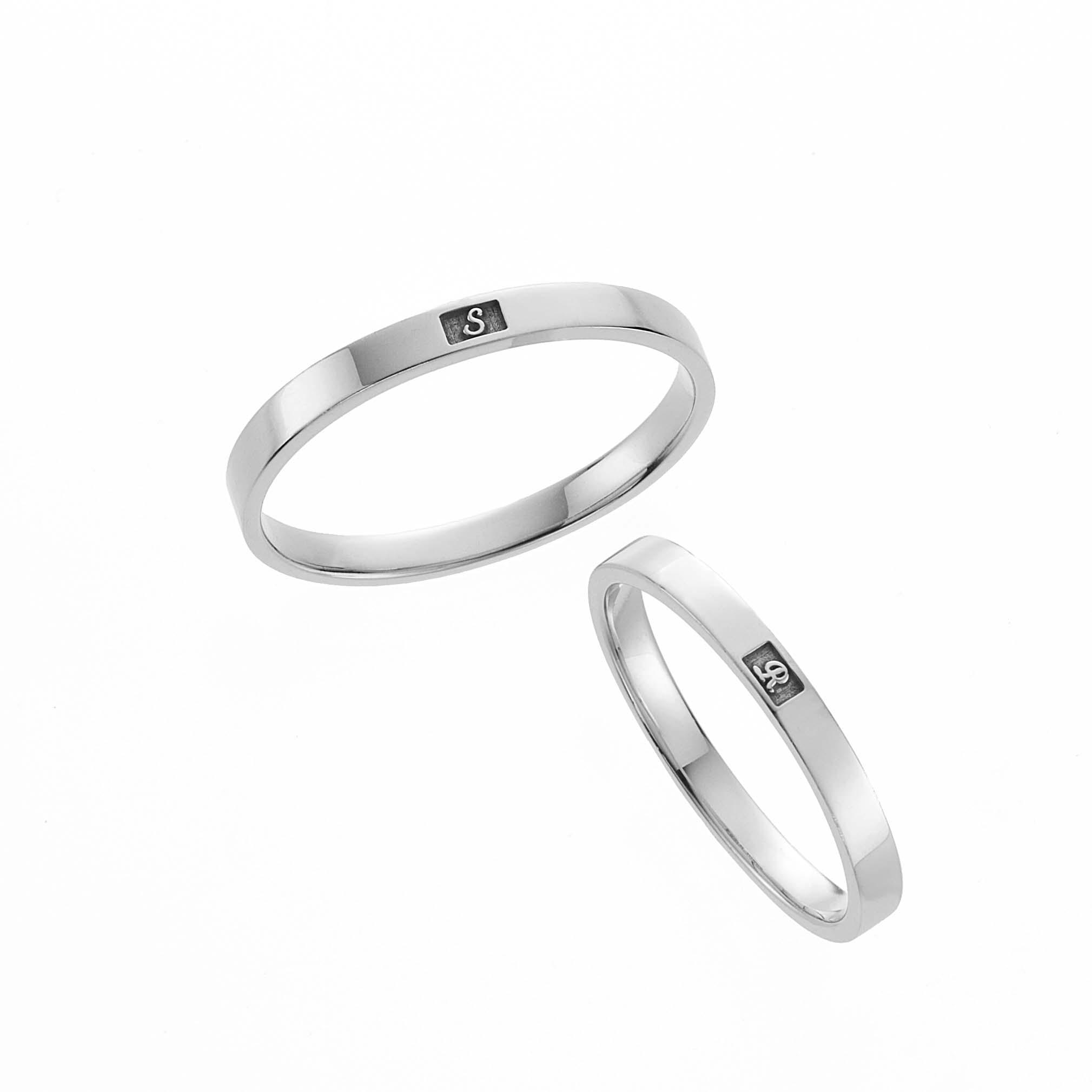 フェミニン,ゴージャス 結婚指輪のノンリング