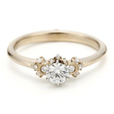 ゴージャス,アンティーク 婚約指輪のアベリAL858AR03