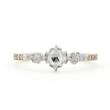 ゴージャス,アンティーク 婚約指輪のアベリBR727A