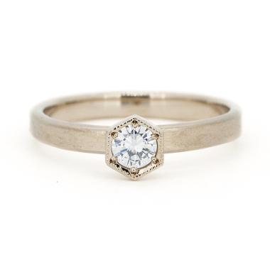 ゴージャス,アンティーク 婚約指輪のアベリBR728C