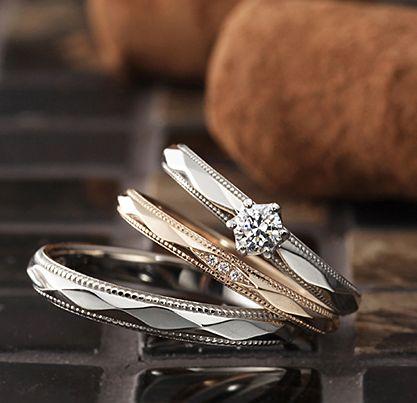 アンティーク 婚約指輪のMatin