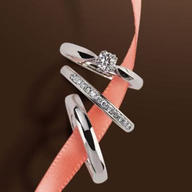 婚約指輪のさくらダイヤモンド エンゲージリング