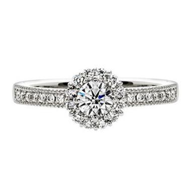 フェミニン,ゴージャス,個性的 婚約指輪のAu Soleil