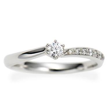 シンプル 婚約指輪のPassage