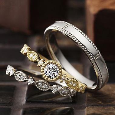 アンティーク 婚約指輪のJoie