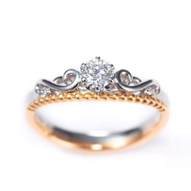 フェミニン,アンティーク 婚約指輪のJoli ジョリ