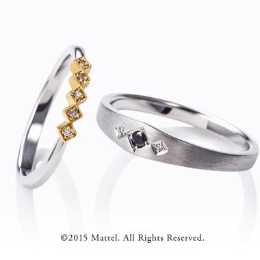 フェミニン,ゴージャス 結婚指輪のプレゼント