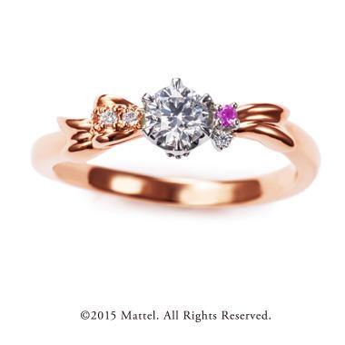 フェミニン,ゴージャス 婚約指輪のプレゼント