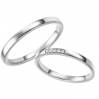 シンプル 結婚指輪のMignon