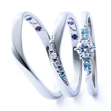 フェミニン 婚約指輪のシンデレラ