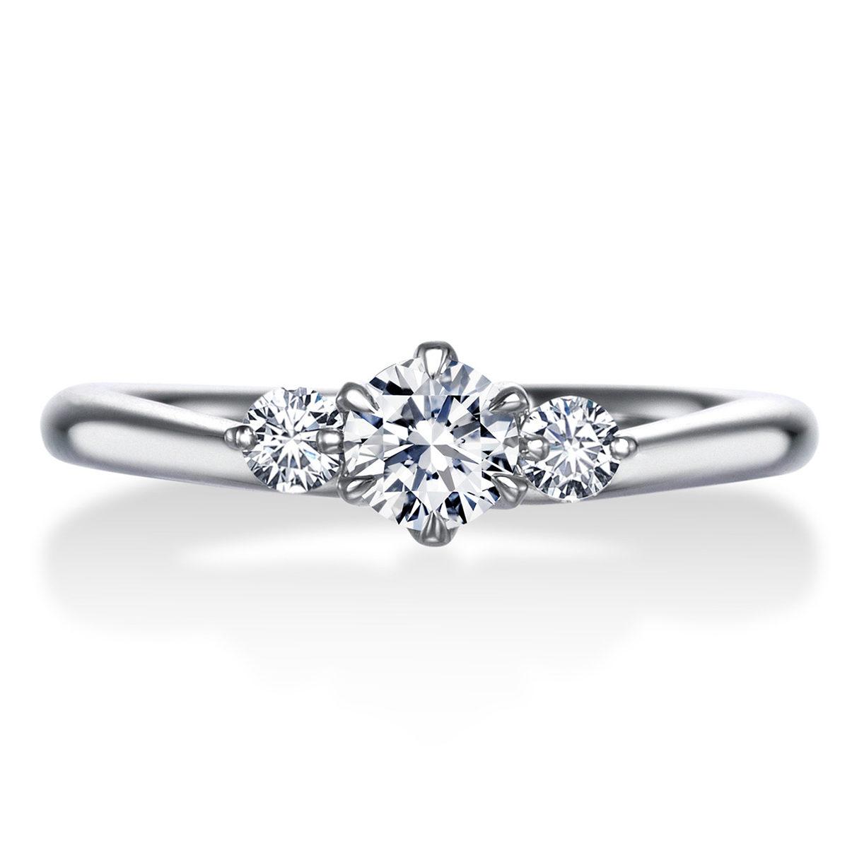 フェミニン,ゴージャス 婚約指輪のERA683