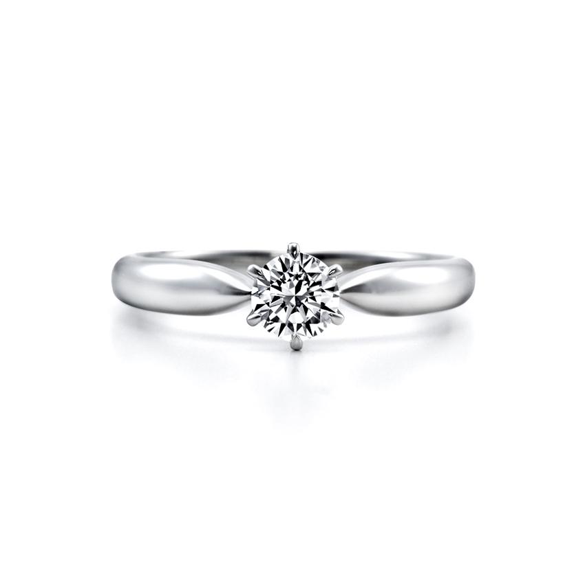 シンプル,ゴージャス 婚約指輪のERA260