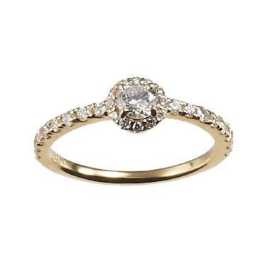 アンティーク 婚約指輪のCHARMANT RING