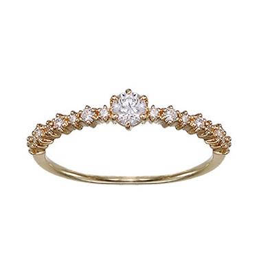 婚約指輪のLA MER RING