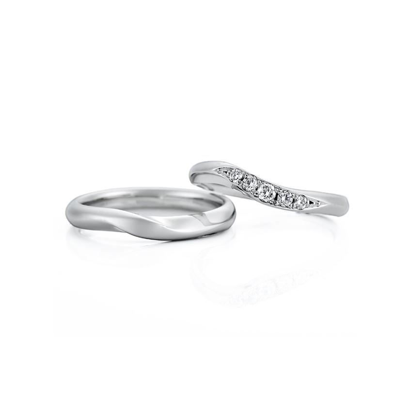 フェミニン 結婚指輪のWRA009_WRB045