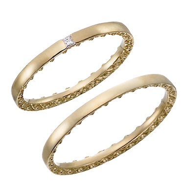 アンティーク 結婚指輪のCIEL ETOILE RING