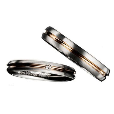 シンプル,個性的 結婚指輪のE30975/40-E40975/30