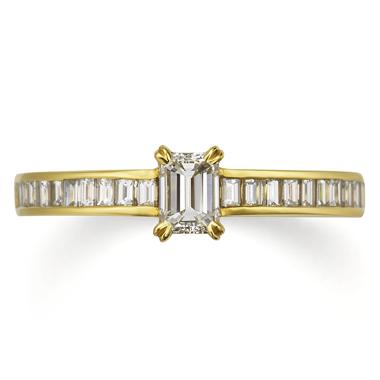 アンティーク 婚約指輪のモナコ