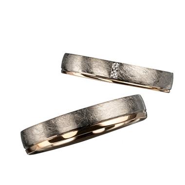 シンプル,個性的 結婚指輪のR40146/35-R30146/40