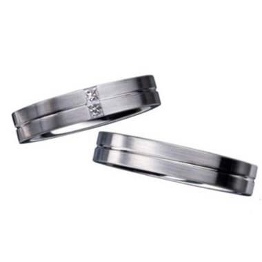 シンプル,個性的 結婚指輪のho4/27093/4-ho27093/4
