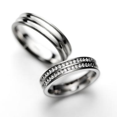 シンプル 結婚指輪のBaumkuchen