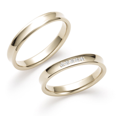 個性的 結婚指輪の長閑(のどか)