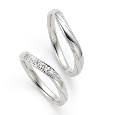 個性的 結婚指輪の木の芽風(このめかぜ)