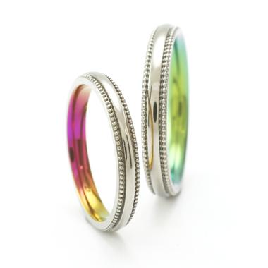 個性的 結婚指輪のFILZA