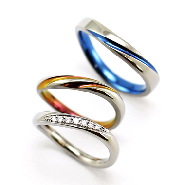 個性的 結婚指輪のOASI