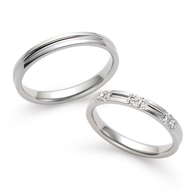シンプル 結婚指輪の淙々(そうそう)
