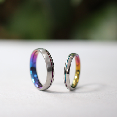 個性的 結婚指輪のETELUNA
