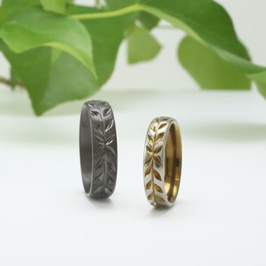 個性的 結婚指輪のLAUREL