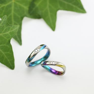 個性的 結婚指輪のARMONIA