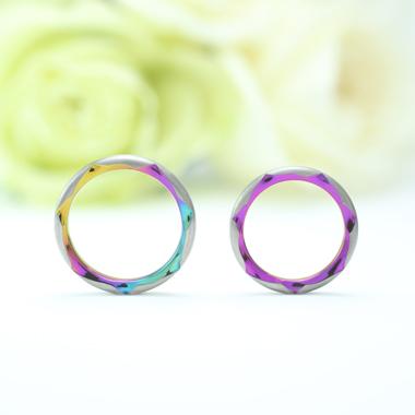 個性的 結婚指輪のROSA