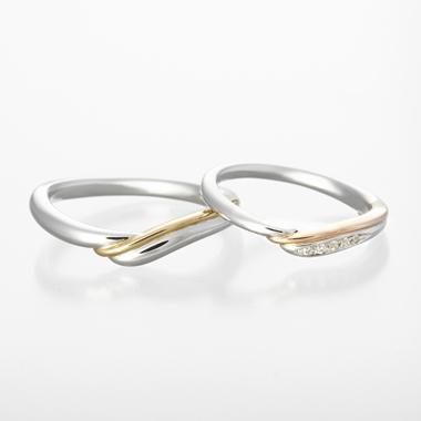 結婚指輪のtoi et moi