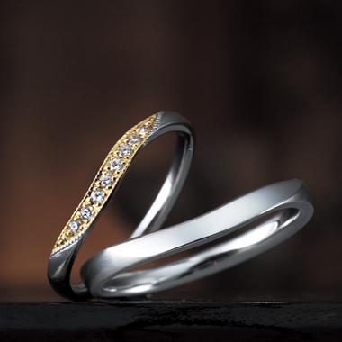 結婚指輪のゼラニューム