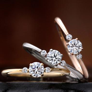 婚約指輪のスターチス
