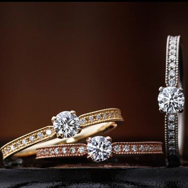 アンティーク 婚約指輪のリリー