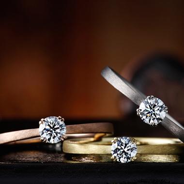 アンティーク 婚約指輪のフリージア