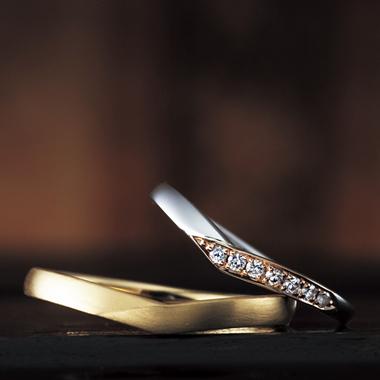 結婚指輪のガーデニア