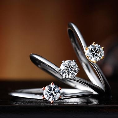 婚約指輪のガーデニア