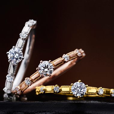 婚約指輪のラナンキュラス
